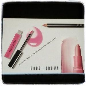 Bobbi Brown Lip Color Trio- Pink